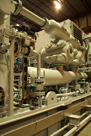 Compressor station photo