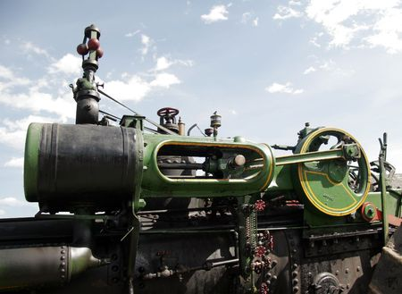 traction engine: Steam engine