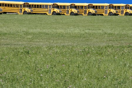 School bus depo Stock Photo - 1842387