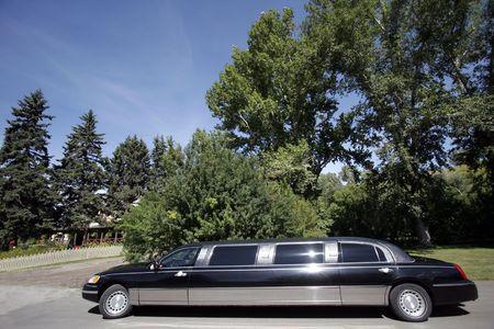 Balck limo