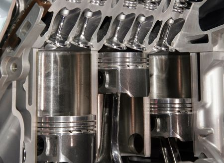 Cutaway moteur Banque d'images