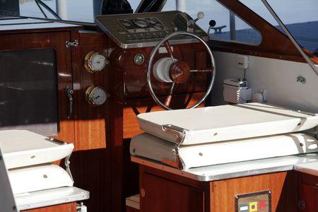 boat Interior Reklamní fotografie