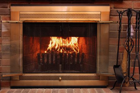 fire place: Fireplace