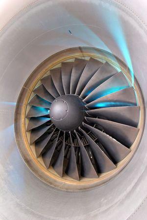 turbofan: Turbofan Stock Photo