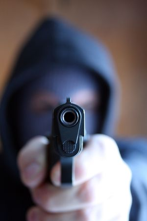 At Gunpoint Stock Photo - 2626374