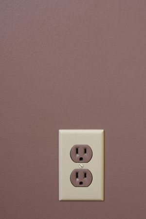 house prices: Electrical Wall Plug