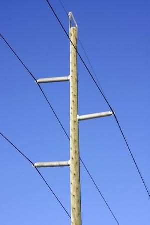 kracht: Macht lijn  Stockfoto