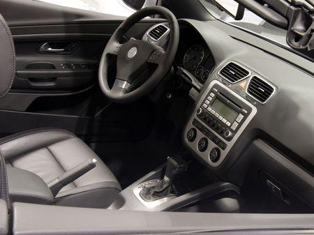 Car interior Archivio Fotografico