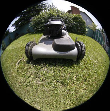 lawn mover photo