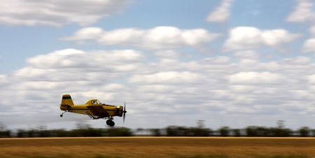 Crop duster Stock Photo