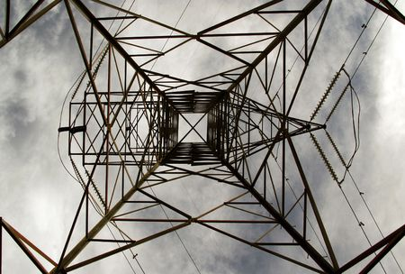 electric current: High power electrical pilon