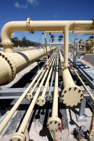 Pipe line in gas industry