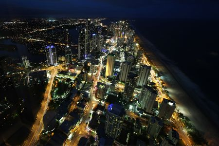 Night at the beach  Australia Stock Photo - 4769124