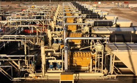 gas compressor stations photo