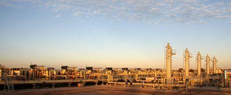 Natural gas plant photo