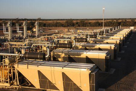 Natural gas palnt photo