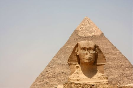 grandiose: Sphinx and Pyramid