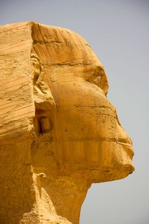 The Sphinx Up close and very personal  photo
