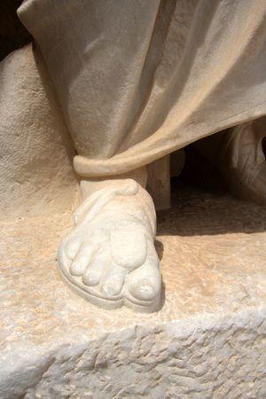 A Saint foot  photo