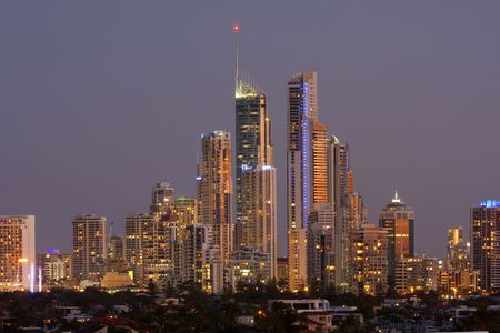 Surfers Paradise, Gold Coast Australia  photo