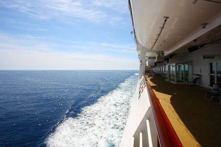 Cruising  Sailing on a cruise ship