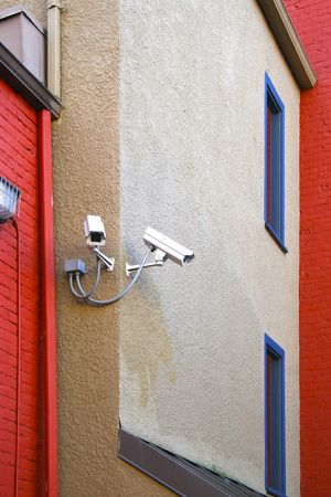 Security cameras  Stock Photo - 6379509