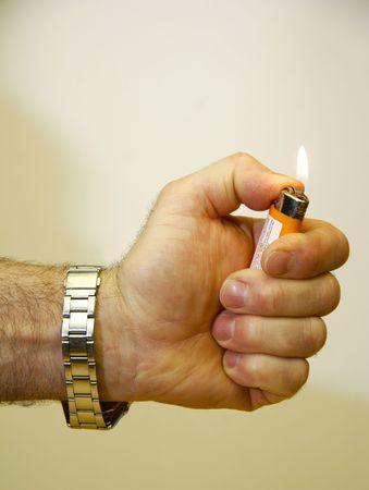 butane: Hand Igniting Cigarette Lighter