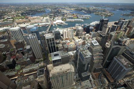City Skyline at Sydney, Australia photo