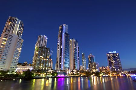 Surfers Paradise, Gold Coast Australia Stock Photo - 6800678