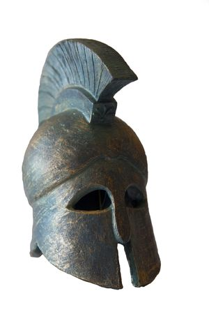 Spartan helmet photo