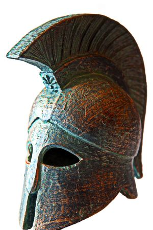 might: Spartan helmet