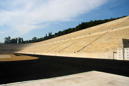 The First Modern Times  Olympic stadium in Athens. Greece