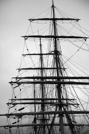 Tall ship rigging photo