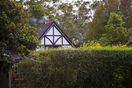 traditional British   cottage