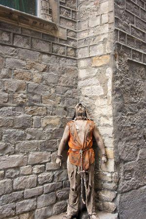 Medieval prisoner Stock Photo - 7489228
