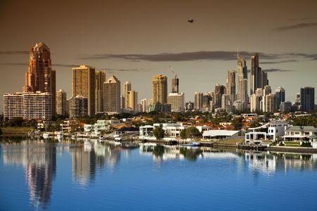 Gold Coast Surfers Paradise Australia Stockfoto