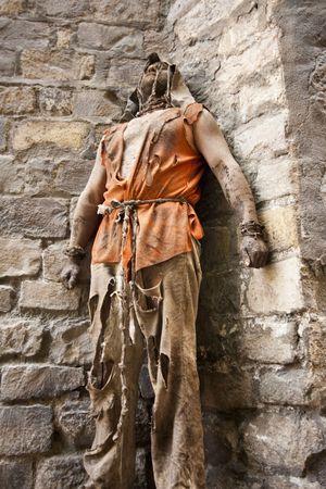 Medieval prisoner Stock Photo - 7651726