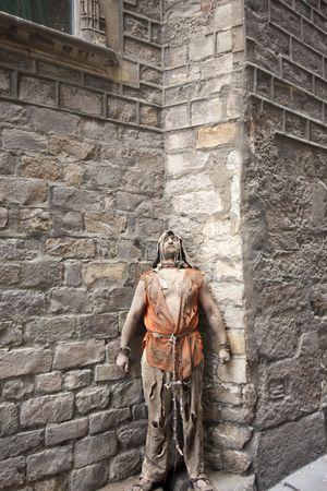 Medieval prisoner Stock Photo - 7918626