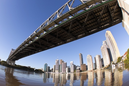 Brisbane skyline  with a different view photo