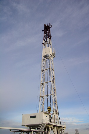 oil and gas industry: Land drilling rig