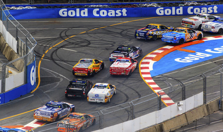 GoldCoast 600 V8 Supercar   22-24 October 2013 Car race   - Australia