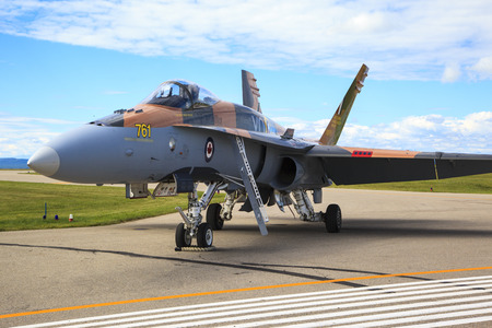 canadian military: SPRINGBANK CANADA 20 JUL 2015: International Air Show and Open House for Canadian, USA and British current and historical military and civilian aircrafts. There were also numerous flights as well.