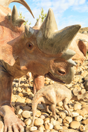 Prehistoric Park attract young and old to imagine what it would be like back in Cretaceous Period
