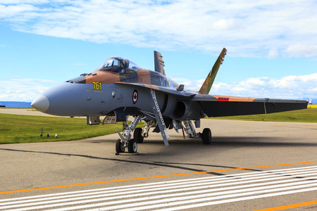 piloting: SPRINGBANK CANADA 20 JUL 2015: International Air Show and Open House for Canadian, USA and British current and historical military and civilian aircrafts. There were also numerous flights as well.