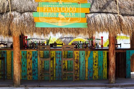 COSTA MAYA - MÉXICO ENERO 30 2016: Costa Maya terminal de cruceros & resorts es un lugar perfecto para todos los visitantes, jóvenes y mayores, ya que muchas atracciones esperan en este paraíso tropical. Editorial