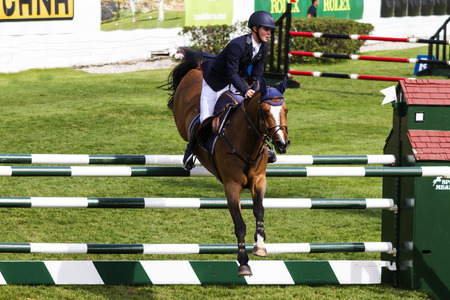 Spruce Meadows International hors jumping competition,