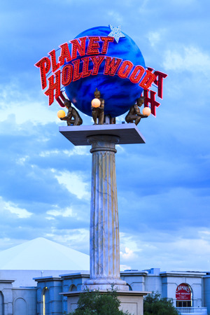 LAS VEGAS, JULY 6 2015: The Planet Hollywood Resort and Casino seen in Las Vegas. The casino originally opened under the name Tally-Ho in 1963. Editorial