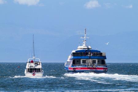 continente americano: Victoria, BC, Canad� - mayo 7 2016: Vista general del horizonte de la ciudad puerto interior del centro. Victoria es uno de los destinos tur�sticos de Canad� y de todo el continente americano del Norte.