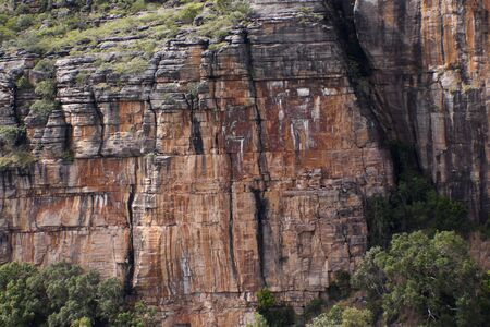 Tributary to Twin Falls and Jim Jim Fals Kakadu National Park, Australia N.T. Ariel images