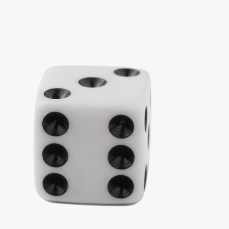 Close-up of a dice photo